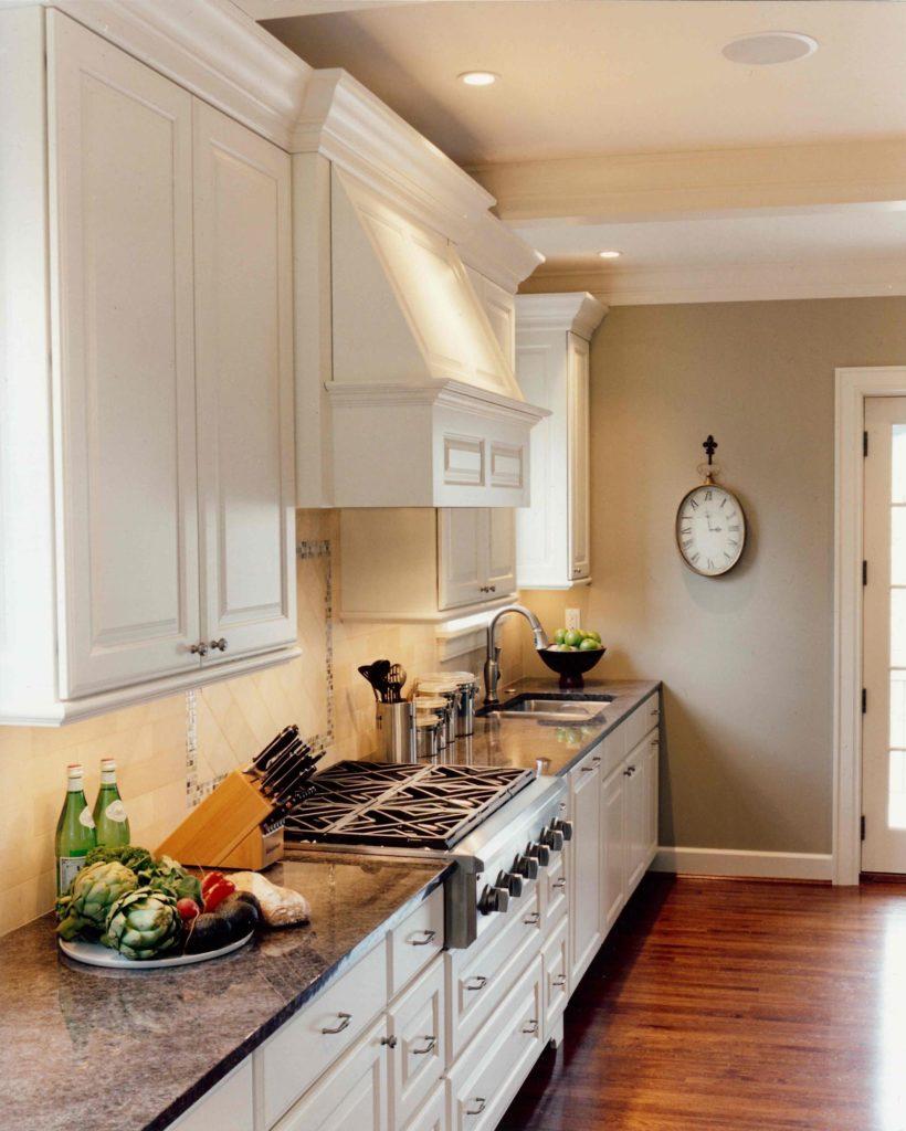 classic kitchen wood floor